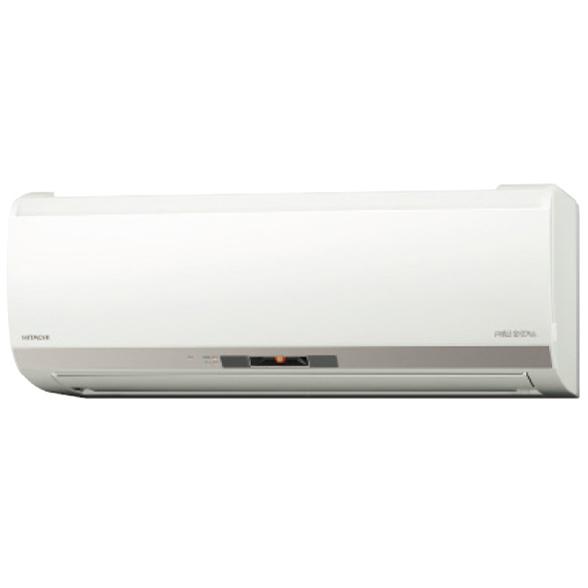 【送料無料】日立 RAS-EK25J2(W) スターホワイト メガ暖 白くまくん EKシリーズ [エアコン(主に8畳用・単相200V)]