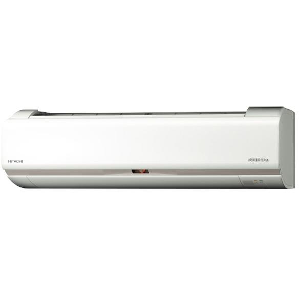【送料無料】日立 RAS-HK25J(W) スターホワイト メガ暖 白くまくん HKシリーズ [エアコン(主に8畳用)]