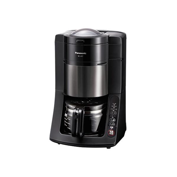 【送料無料】PANASONIC NC-A57-K ブラック [沸騰浄水コーヒーメーカー (5杯分)]