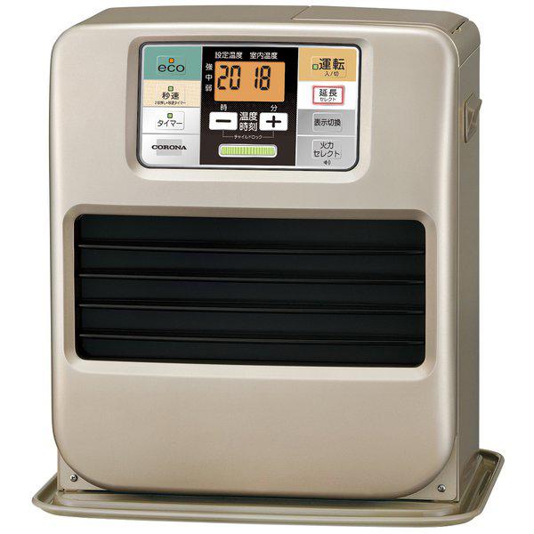 【送料無料】コロナ FH-SR3318Y-N シャンパンゴールド [石油ファンヒーター(木造9畳/コンクリート12畳まで)]