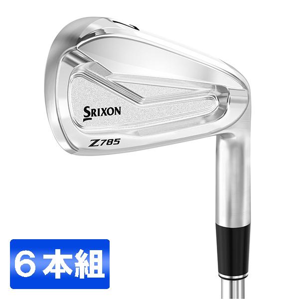 DUNLOP(ダンロップ) スリクソン Z785 アイアンセット6本組 #5~9、PW) ダイナミックゴールド DST シャフト S200 【日本正規品】