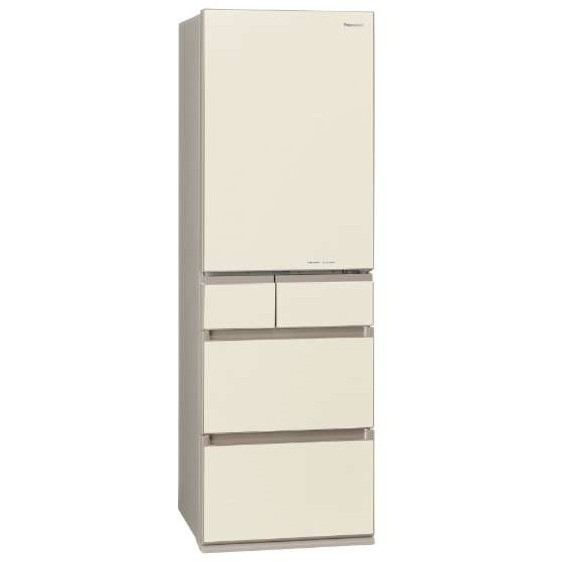 【送料無料】PANASONIC NR-E454PXL-N シャンパンゴールド [冷蔵庫 (450L・左開き)] 【代引き・後払い決済不可】【離島配送不可】