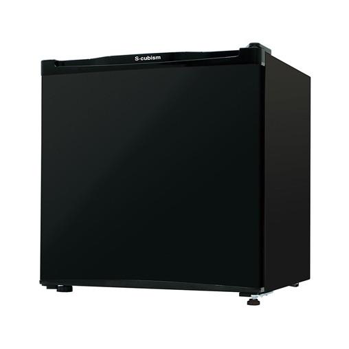 【送料無料】S-cubism Electric RM-46L01BK ブラック [冷蔵庫(46L・左右フリー)]