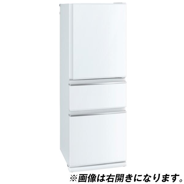 【送料無料】MITSUBISHI MR-CX33D-L-W パールホワイト [冷蔵庫(330L・左開き)] 【代引き・後払い決済不可】【離島配送不可】
