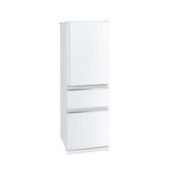 【送料無料】MITSUBISHI MR-CX37D-W パールホワイト [冷蔵庫(365L・右開き)]