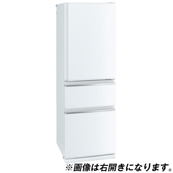 【送料無料】MITSUBISHI MR-CX37D-L-W パールホワイト [冷蔵庫(365L・左開き)]