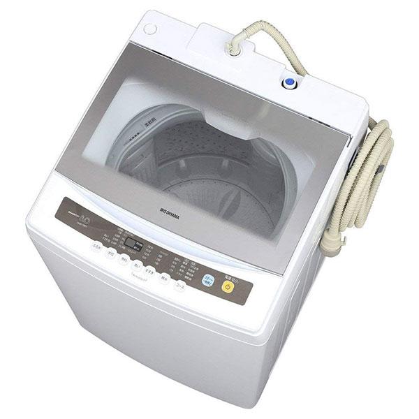 【送料無料】アイリスオーヤマ IAW-T801 [簡易乾燥機能付洗濯機 (8.0kg)]