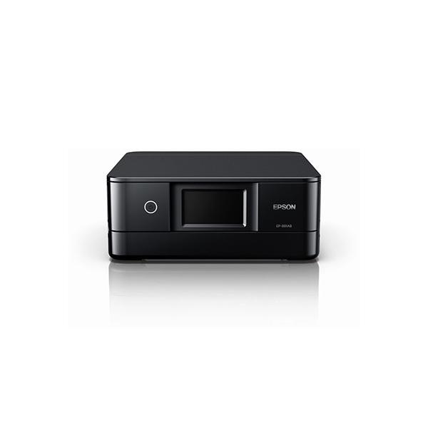【送料無料】EPSON EP-881AB ブラック Colorio(カラリオ) [インクジェット複合機(A4カラープリント対応・コピー/スキャナ)]