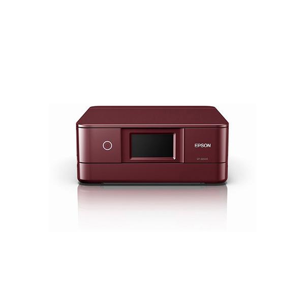【送料無料】EPSON EP-881AR レッド Colorio(カラリオ) [インクジェット複合機(A4カラープリント対応・コピー/スキャナ)]