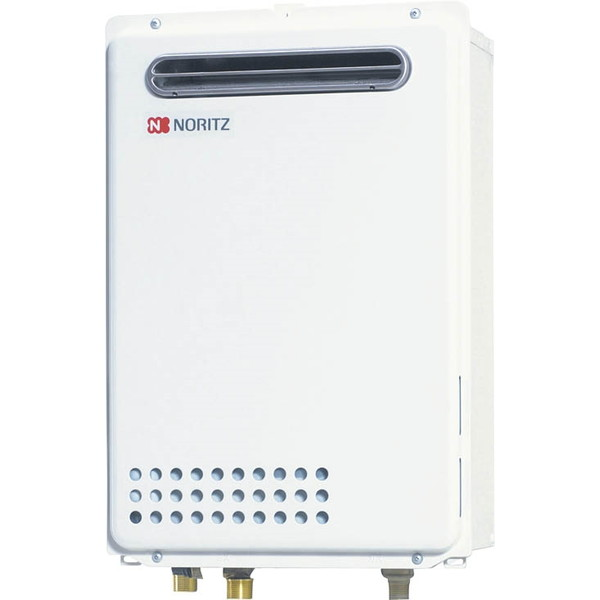 NORITZ GQ-2439WS-1-13A [ガス給湯器(都市ガス用・給湯専用・24号・屋外壁掛形・オートストップ)]