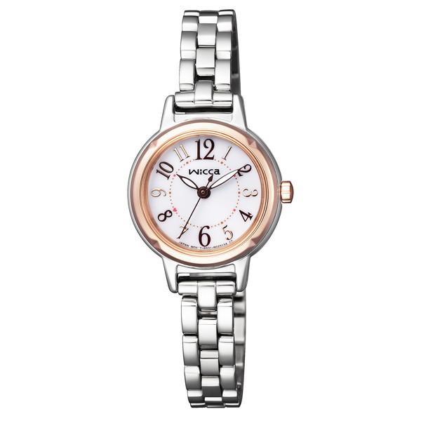 【送料無料】CITIZEN(シチズン) KP3-619-11 wicca(ウィッカ) [ソーラーテック腕時計(レディース)]
