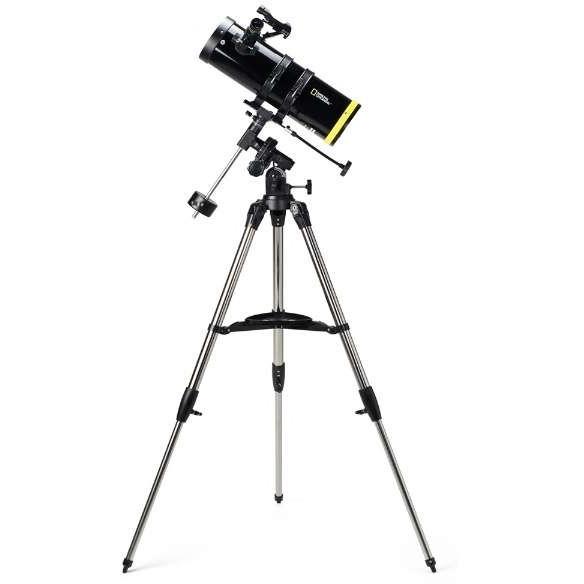 【送料無料】ナショナルジオグラフィック 80-10114 反射式天体望遠鏡(口径114mm赤道儀)