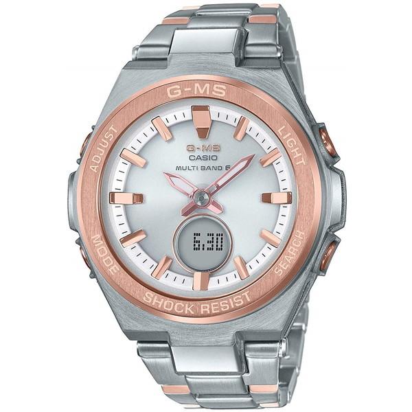 【送料無料】CASIO(カシオ) MSG-W200SG-4AJF Baby-G G-MS [ソーラー電波腕時計 (レディースウォッチ)]