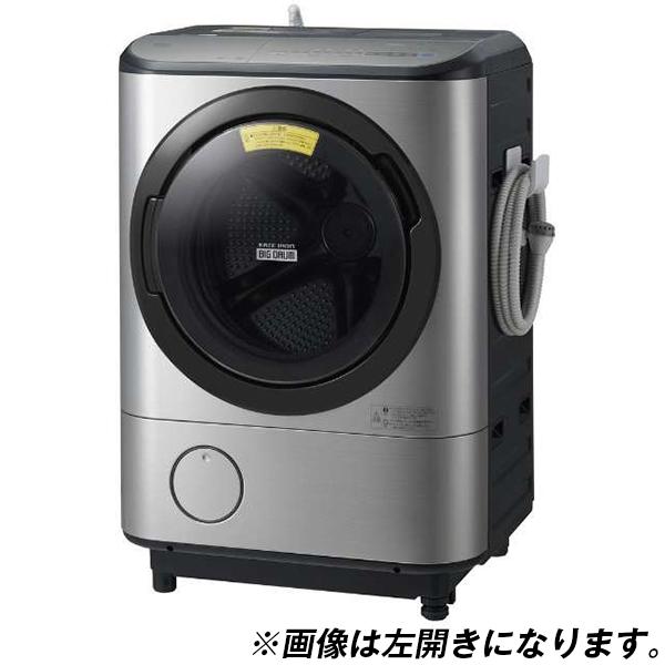 【送料無料】日立 BD-NX120CR ステンレスシルバー ヒートリサイクル 風アイロン ビッグドラム [ななめ型ドラム式洗濯乾燥機 (洗濯12.0kg/乾燥6.0kg) 右開き]