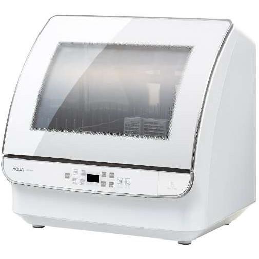 【送料無料】AQUA ADW-GM1-W ホワイト [食器洗い乾燥機]
