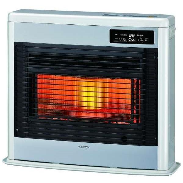 コロナ UH-FSG7018K-W ロイヤルホワイト スペースネオ床暖 [FF式輻射床暖ストーブ(木造:18畳/コンクリート:29畳/別置きタンク式)]