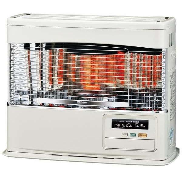 【送料無料】コロナ UH-F7018PR-W [FF式輻射床暖ストーブ(木造:18畳/コンクリート:29畳/別置きタンク式)]