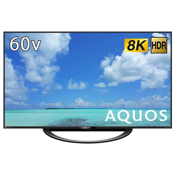 【送料無料】SHARP 8T-C60AW1 ブラック AQUOS [60V型地上・BS・110度CSデジタル 8K対応 LED液晶テレビ]