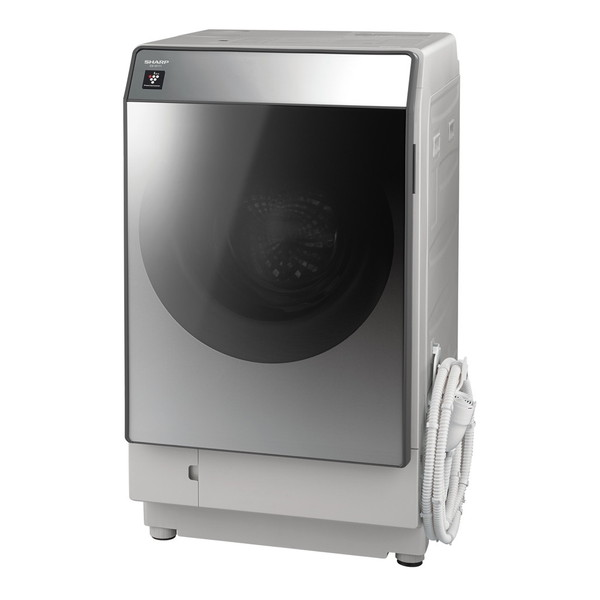 【送料無料】SHARP ES-W111-SL シルバー系 [ななめ型ドラム式洗濯乾燥機 (洗濯11.0kg/乾燥6.0kg) 左開き]