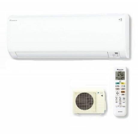 【送料無料】DAIKIN S25WTKXP-W ホワイト スゴ暖KXシリーズ [エアコン (主に8畳用・200V対応)]