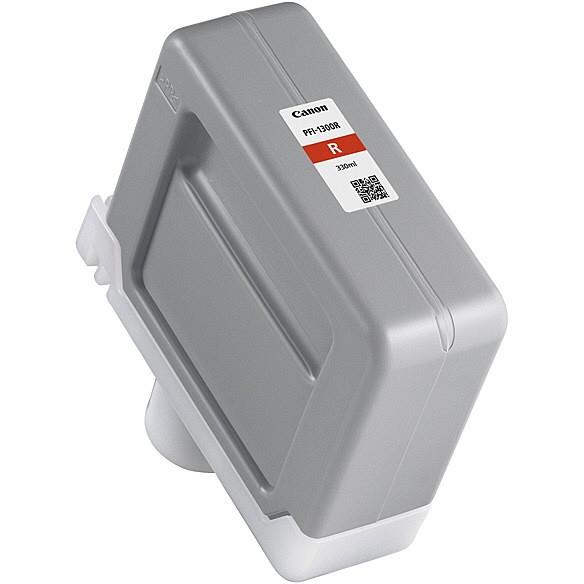 【送料無料】CANON PFI-1300 R レッド [インクタンク]