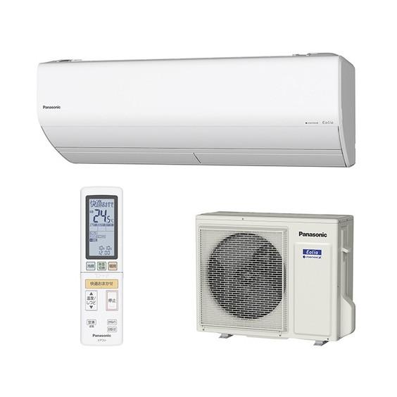 【送料無料】PANASONIC CS-409CX2-W クリスタルホワイト エオリア Xシリーズ [エアコン(主に14畳用・200V対応)]