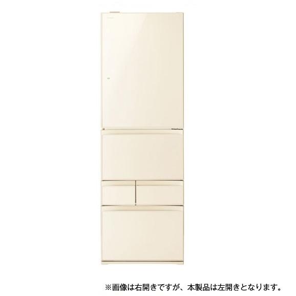 【送料無料】東芝 GR-P41GXVL(ZC) ラピスアイボリー [5ドア冷蔵庫(411L・左開き)]