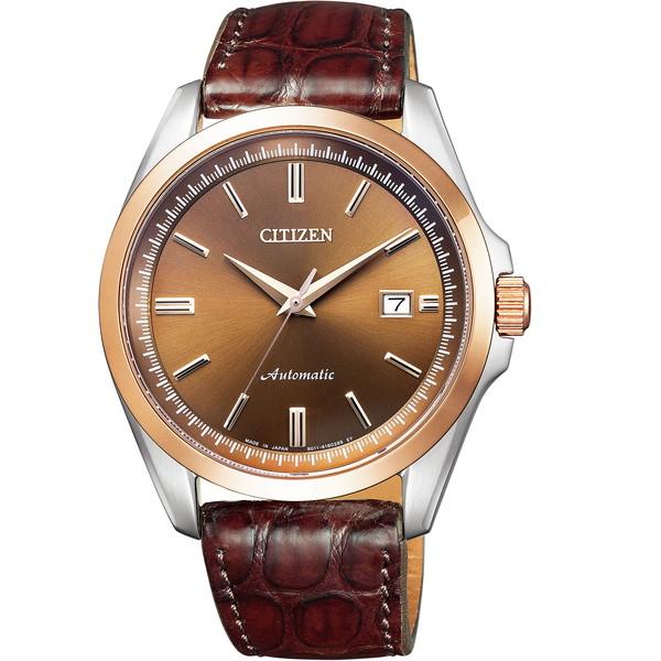 【送料無料】CITIZEN(シチズン) NB1045-16W ブラウン Mechanical(メカニカル) [自動巻き+手巻き腕時計 (メンズウオッチ)]