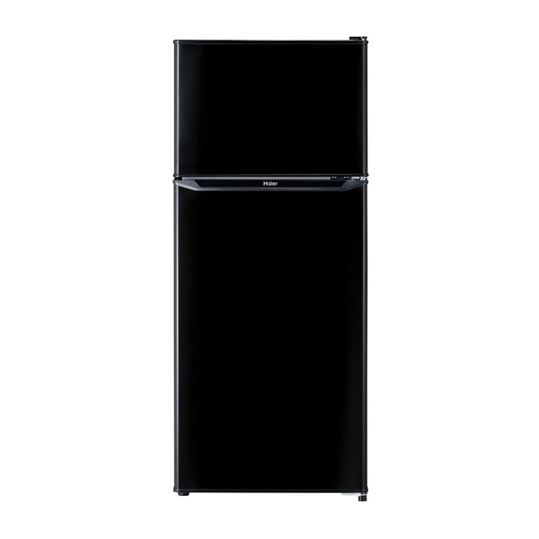 【送料無料】冷蔵庫 一人暮らし 小型 新生活 2ドア 130l ハイアール JR-N130A-K ブラック 冷蔵室自動霜取り 耐熱性能天板 強化ガラストレイ コンパクト スリムボディ
