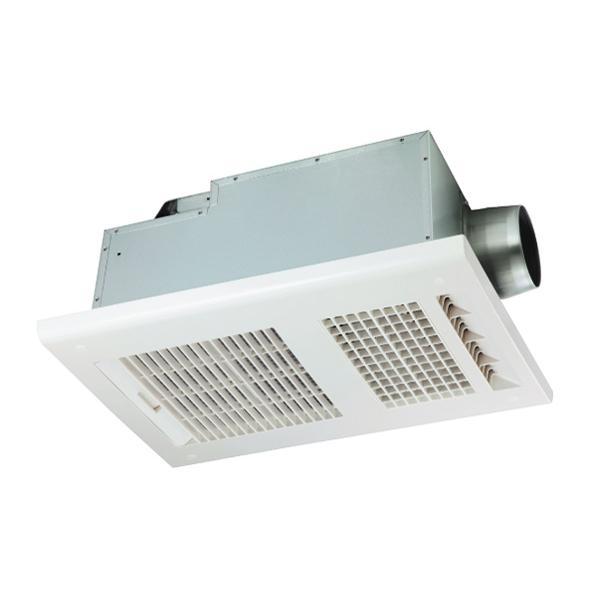1600×2000×2200mm(1.25坪)の広い浴室にも200Vのハイパワーで対応します。 浴室暖房乾燥機(1室換気)MAX(マックス) BS-261H-CX ドライファン 200V 「プラズマクラスター」技術搭載 浴室暖房・換気・乾燥機 ・24時間換気機能