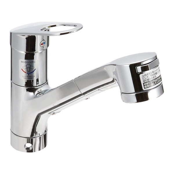 【送料無料】TOTO TKGG32EBS [キッチン用シングルレバー混合水栓(台付・ハンドシャワー・吐水切替)]
