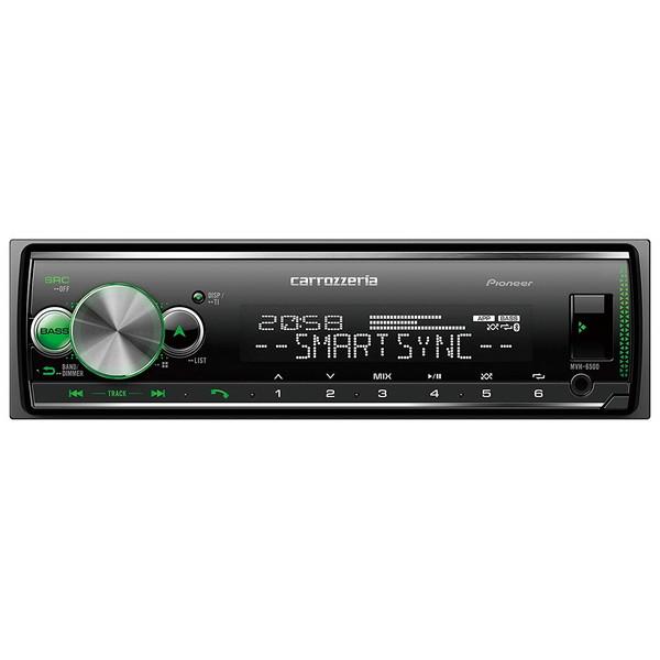 【送料無料】PIONEER MVH-6500 カロッツェリア [Bluetooth/USB/チューナー・DSPメインユニット]