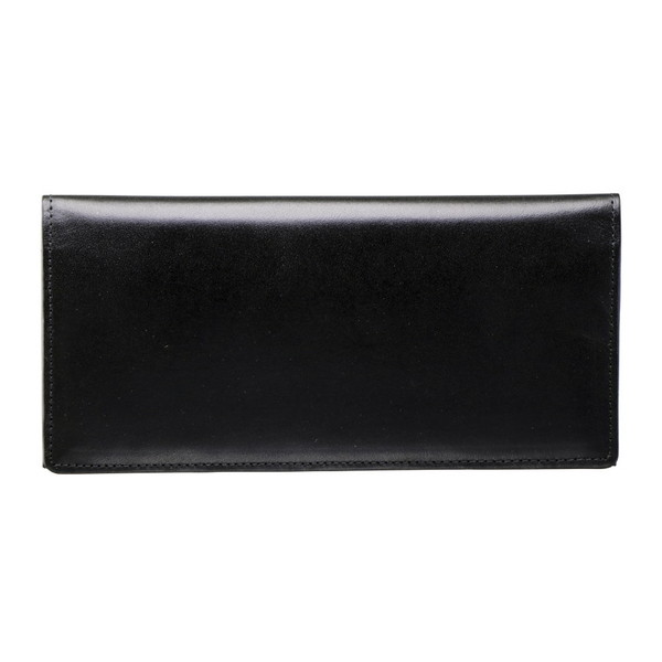 【送料無料】手塗りオイルレザー ササマチ長財布 ブラック TA36-01