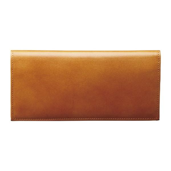 【送料無料】手塗りオイルレザー ササマチ長財布 ブラウン TA36-06