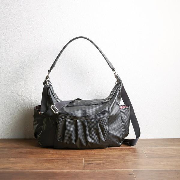 【送料無料】ユキコハナイ ショルダーバッグ ブラック HY-015BL