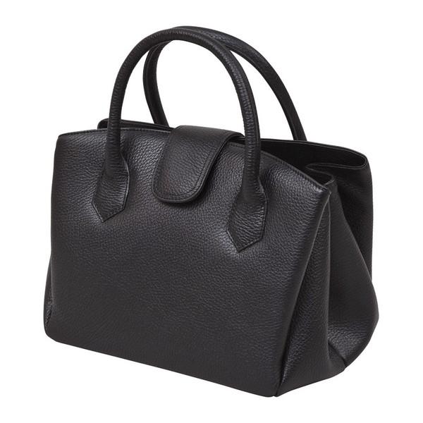 【送料無料】良品工房牛革ジャバラ式手提げバッグ B17-105B