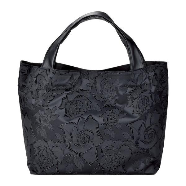 【送料無料】MTBK-20-01 ふじやま織 手提げバッグ バラ