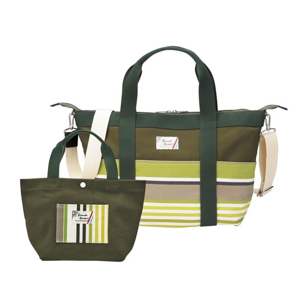 【送料無料】フレンチバスク バッグセット グリーン BSQ85200