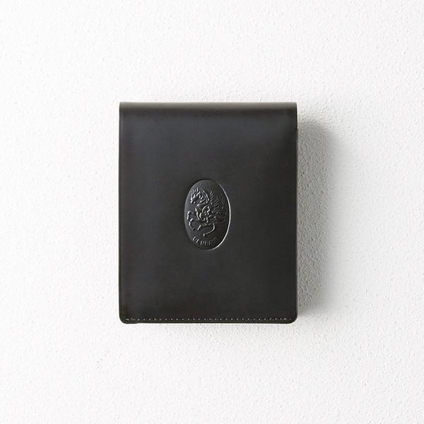 【送料無料】レオナルド・チェンバレ 二つ折れ財布(ブラック) CL3004