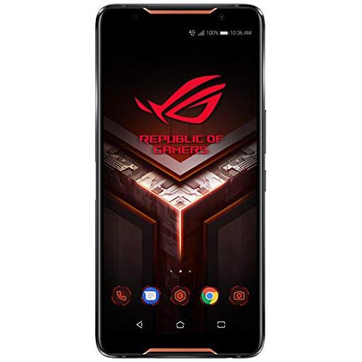 【送料無料】ASUS ZS600KL-BK512S8 ブラック ROG Phone [SIMフリー ゲーミングスマートフォン(6インチ・メモリ8GB・eMMC512GB)]