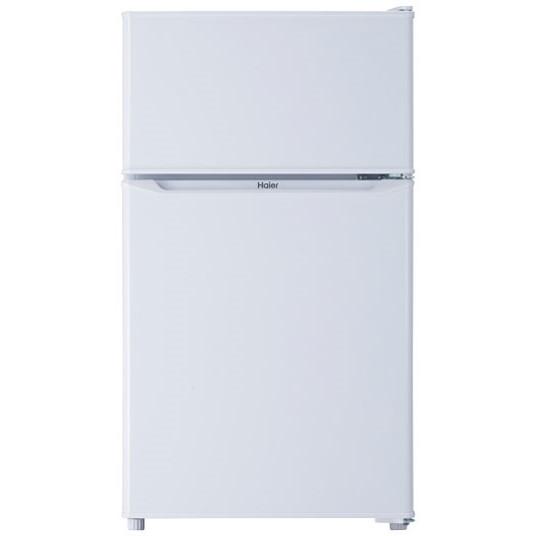 【送料無料】冷蔵庫 小型 2ドア 85l 一人暮らし 新生活 ハイアール JR-N85C-W ホワイト 右開き 直冷式 コンパクト
