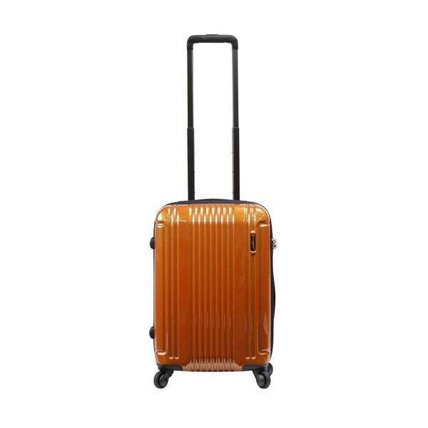 【送料無料】BERMAS CONNECT ファスナー48c(スーツケース) 60280-34 オレンジ 【LCC機内持込対応可】 容量:34L