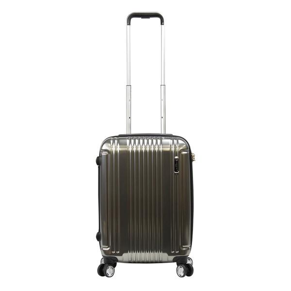 【送料無料】BERMAS PRESTIGEIII BERMAS100周年記念モデル ファスナー49c(スーツケース) 60274-10 ブラック 【機内持込対応可】容量:37L