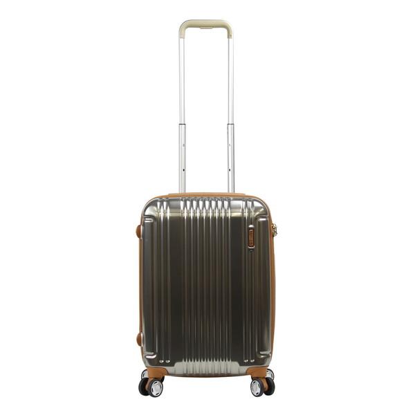 【送料無料】BERMAS PRESTIGEIII BERMAS100周年記念モデル ファスナー49c(スーツケース) 60274-45 キャメル 【機内持込対応可】容量:37L