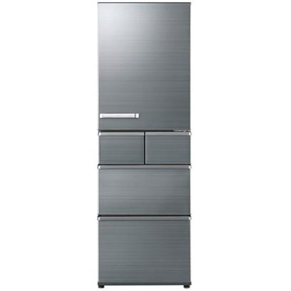 【送料無料】AQUA AQR-SV42H-S チタニウムシルバー [5ドア冷蔵庫(415L・右開き)]