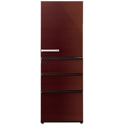 【送料無料】AQUA AQR-SV36H-T グロスブラウン [4ドア冷蔵庫(355L・右開き)] 【代引き・後払い決済不可】【離島配送不可】