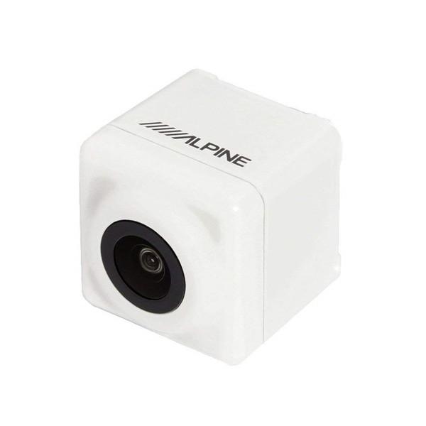 【送料無料】ALPINE HCE-C1000D-PRA2-W パールホワイト [プリウスαMC後専用バックビューカメラパッケージ]