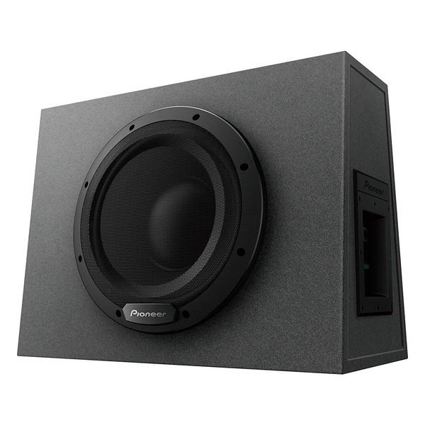 迫力のフォルムで衝撃の重低音を響かせる PIONEER TS-WX1010A カロッツェリア [25cmパワードサブウーファー]