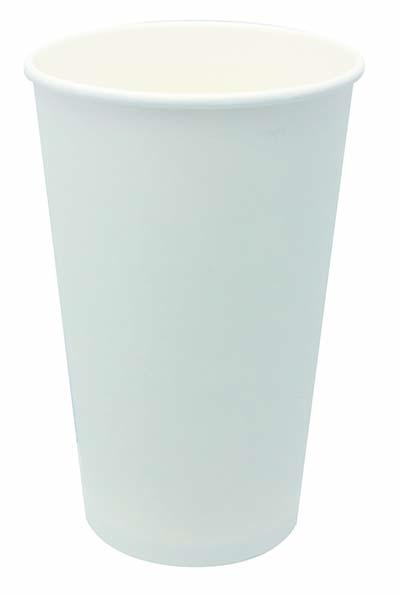 【送料無料】ホワイトカップ 480ml 50P×20パック アートナップ 73090104 [使い捨てカップ 紙コップ 使い捨て容器 まとめ買い]