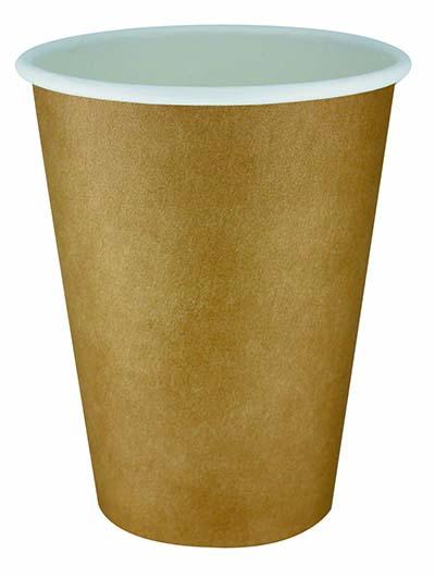 クラフト印刷カップ 410ml 50P×20パック アートナップ 73090107 [使い捨てカップ 紙コップ 使い捨て容器 まとめ買い]